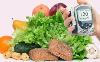 Особенности диеты при сахарном диабете