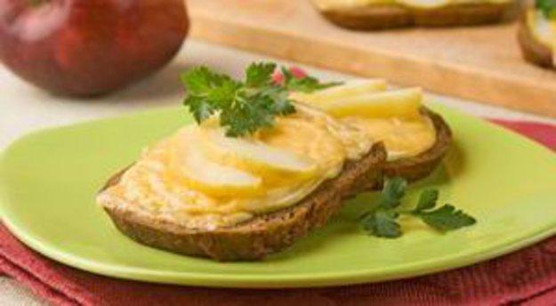 бутерброд с сыром и яблоками при диабете