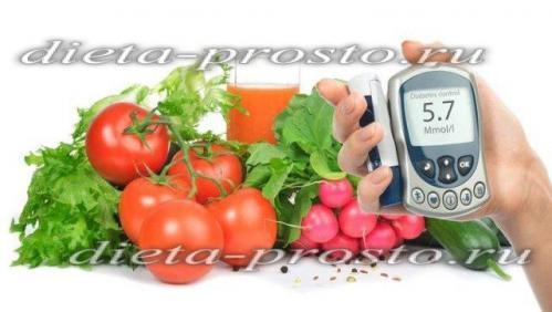 Меню для диабетика 2 типа на каждый день с рецептами