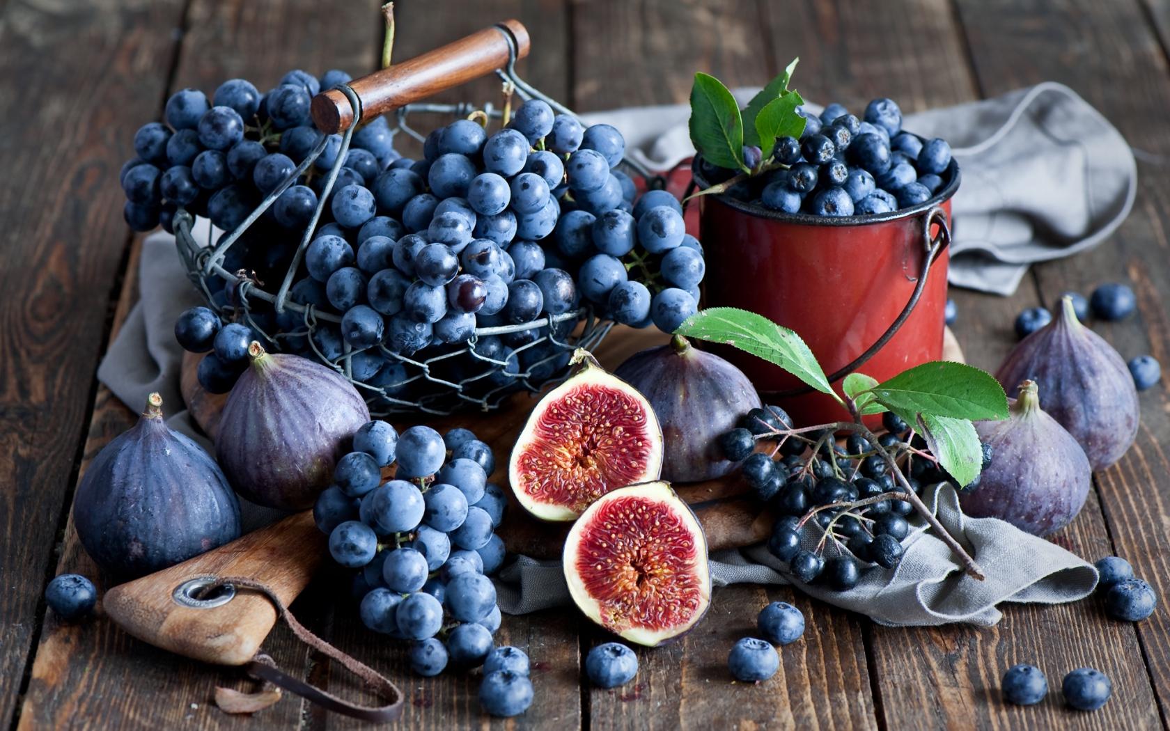 Инжир и виноград