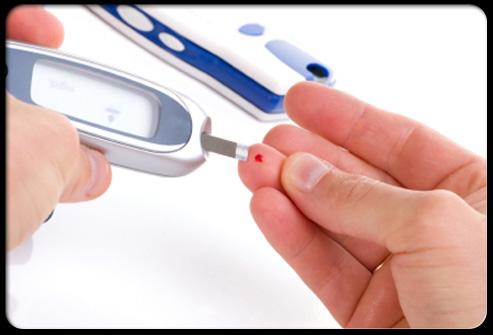 Фото: диагностика уровня глюкозы крови