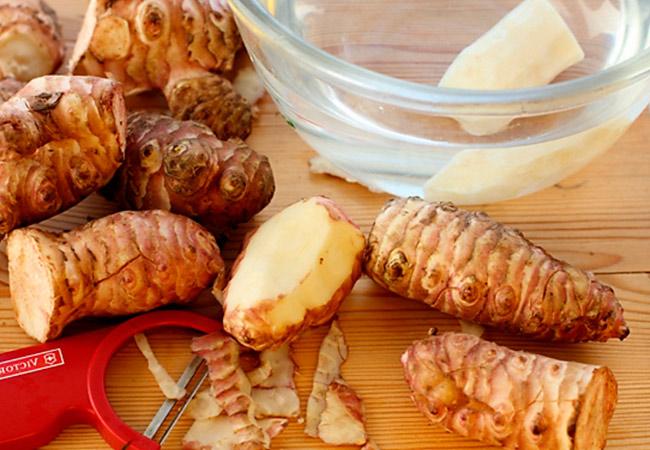 Полезные рецепты с топинамбуром