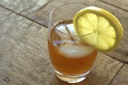 Чайный квас с лимоном
