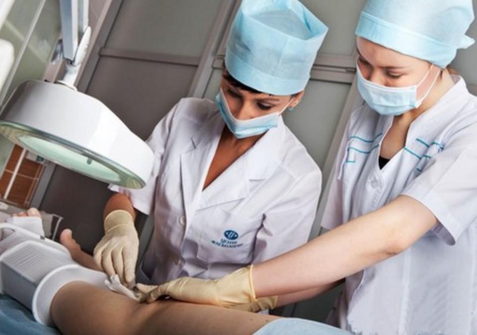 Лечение трофической язвы хирургическим способом