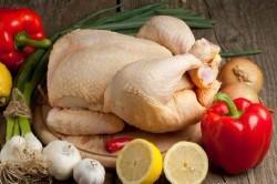 Ингредиенты для приготовления курицы в мультиварке