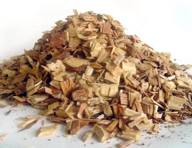Кора и древесина осины
