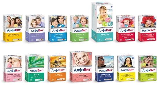Витамины Алфавит для диабетиков