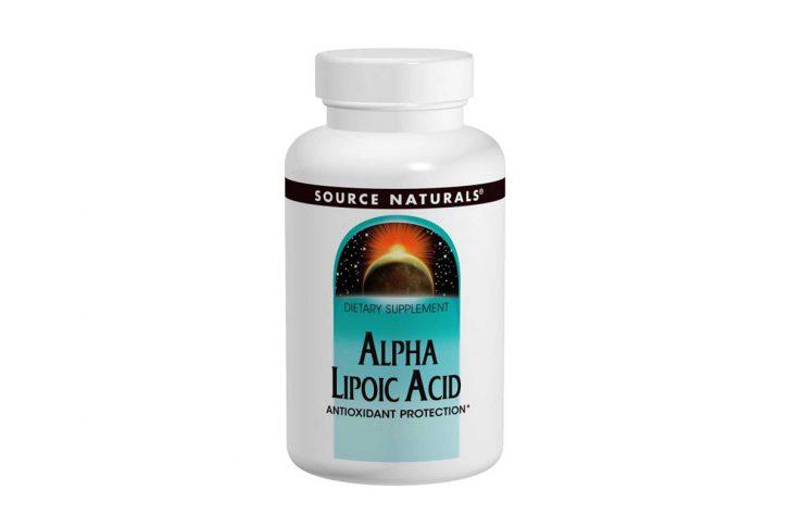 Альфа-Липоевая Кислота 200 мг в таблетках от Source Naturals