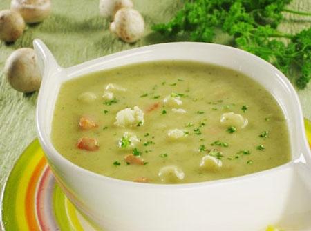 Овощной суп при сахарном диабете