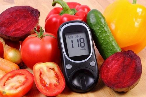 ГИ овощей на глюкометле