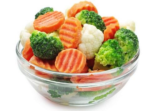 микс салат для диабетика