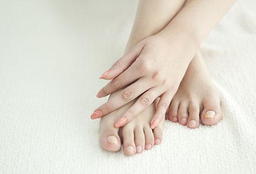 Ухоженные руки и ноги